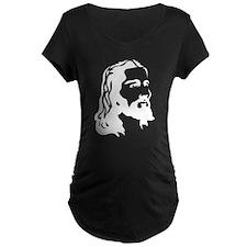 Jesus Face Maternity T-Shirt