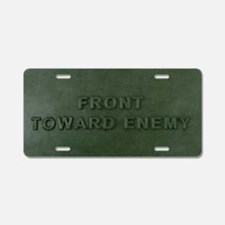 Claymore Mine Instructions Aluminum License Plate