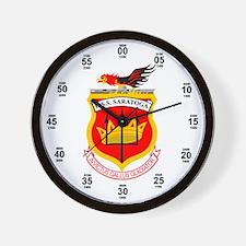 USS Saratoga CV-60 Wall Clock