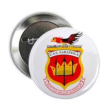 """Uss Saratoga Cv-60 2.25"""" Button"""