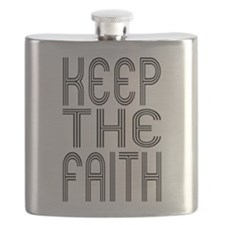 Keep the Faith Flask