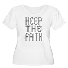 Keep the Faith Plus Size T-Shirt