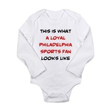 Funny Philly sports Long Sleeve Infant Bodysuit