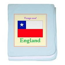 Tonga Soa! England baby blanket