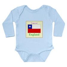 Tonga Soa! England Body Suit