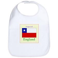 Tonga Soa! England Bib