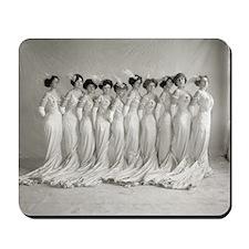 Elegant Evening Gowns, 1910 Mousepad