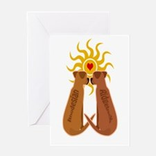 Rhodesian ridgeback Greeting Cards