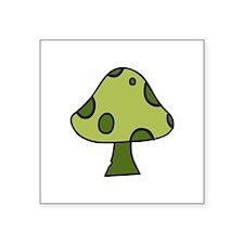 Green Mushroom Sticker