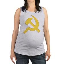 Hammer & Sickle Maternity Tank Top