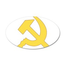 Hammer & Sickle Wall Decal