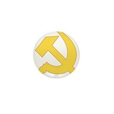 Hammer & Sickle Mini Button (100 pack)