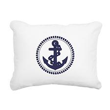 Anchor Rectangular Canvas Pillow