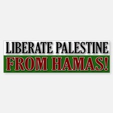 Liberate Palestine from Hamas Bumper Bumper Bumper Sticker