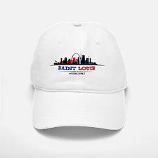 St. Louis Skyline Baseball Baseball Cap