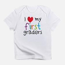 I Heart My First Graders Teacher Love Infant T-Shi