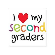 I Heart My Second Graders Teacher Love Sticker