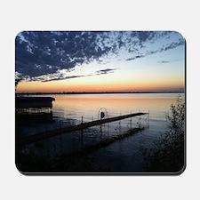 Lake Poygan Sunset Mousepad