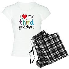 I Heart My Third Graders Teacher Love Pajamas