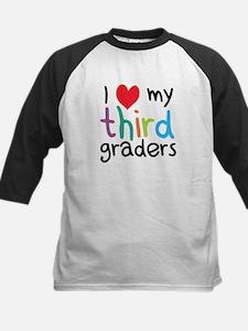 I Heart My Third Graders Teacher Love Baseball Jer