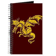 Cute Red dragon fire Journal