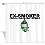 Ex-Smoker Shower Curtain