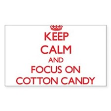 Keep Calm and focus on Cotton Candy Decal