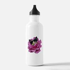 Rose Cat Water Bottle