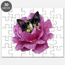 Rose Cat Puzzle