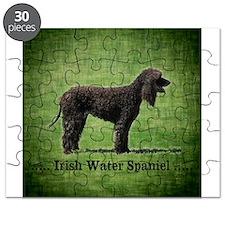 Irish Water Spaniel Puzzle