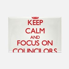 Keep Calm and focus on Councilors Magnets