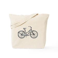 Retro Bike Tote Bag