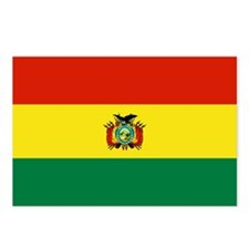 Bolivia Flag Postcards (Package of 8)