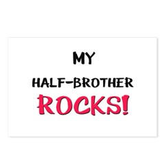 My HALF-BROTHER ROCKS! Postcards (Package of 8)