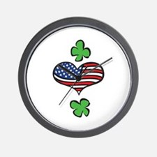 American Heart Wall Clock