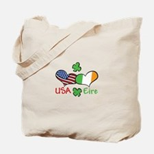 USA Eire Tote Bag