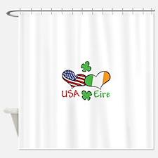 USA Eire Shower Curtain