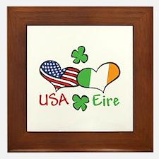 USA Eire Framed Tile