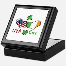 USA Eire Keepsake Box