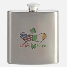 USA Eire Flask