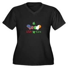 USA Eire Plus Size T-Shirt