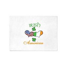 Irish American 5'x7'Area Rug