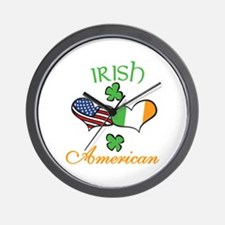 Irish American Wall Clock