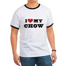 I Heart My Chow T-Shirt
