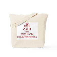 Funny Keep calm and pretend Tote Bag