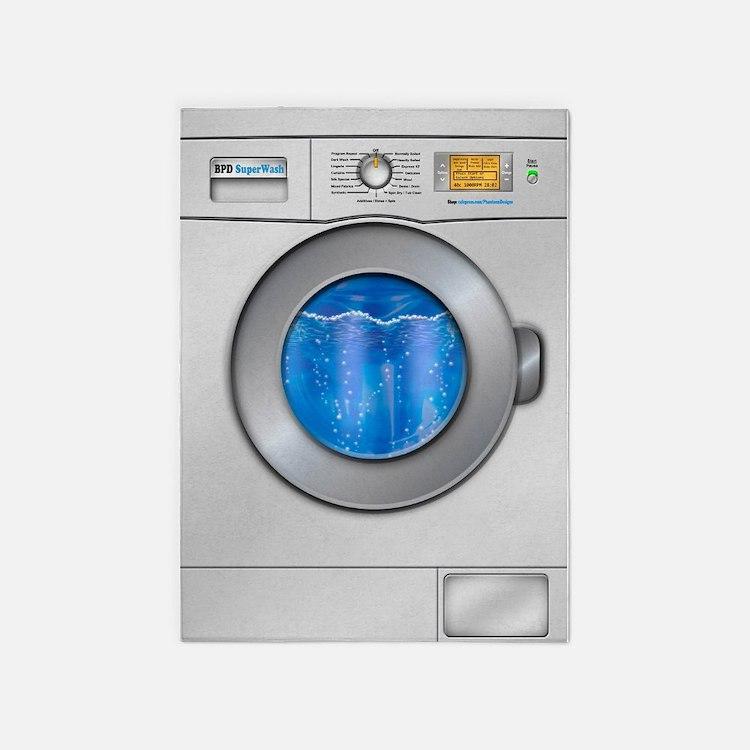 washing a rug in washing machine