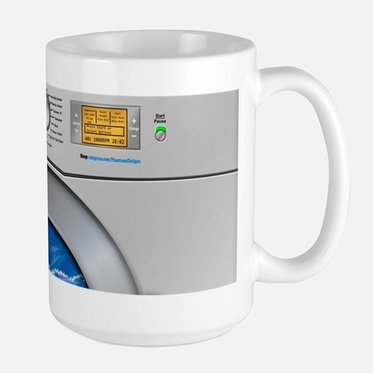 Washing Machine Large Mug