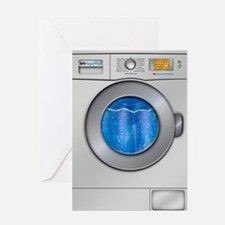 Washing Machine Greeting Card