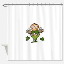 Irish Man Shower Curtain