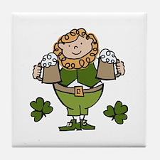 Irish Man Tile Coaster